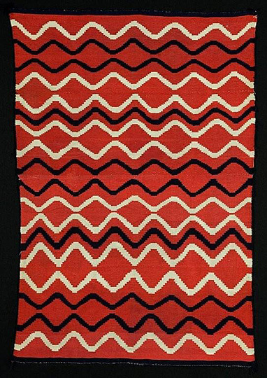 Classic Navajo Blanket. Richard & Associates Art Appraisals